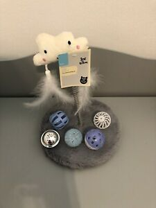 Kitten Cloud Swatter And Toys Bundle