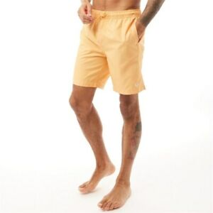 Fred Perry Men's Textured Swimshorts Apricot Nectar  XS,S, Swim Polyester