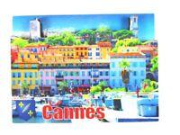 Cannes Francia Francia 3D Madera Recuerdo Deluxe Imán, Nuevo