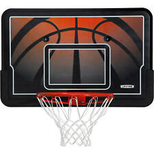 Basketball Above Garage Replacement Impact Backboard & Rim Basketball Combo Set