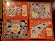(21) 1961 - 1987 MLB Baseball American League Red Book collection see pics Wow!