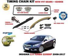 für Opel Opel Insignia 2.0 Turbo 220bhp 2008- > STEUERKETTENSATZ + VVT Getriebe