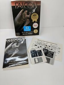 Falcon The F-16 Fighter Simulation Macintosh 2.2 by Spectrum HoloByte