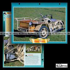 #089.08 Fiche Moto PEUGEOT 125 P 55 TN TRIPORTEUR 1939-1958 Motorcycle Card