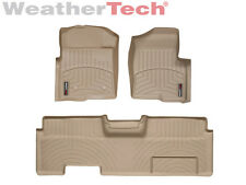 WeatherTech FloorLiner - Ford F-150 - Ext. Cab w/o Flow - 2010-2014 - Tan
