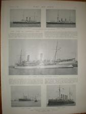 Photo article HMS Ophir and convoy 1901 UK