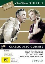Classic Matinee Triple Bill - Classic Sir Alec Guiness (DVD, 2010, 3-Disc Set)