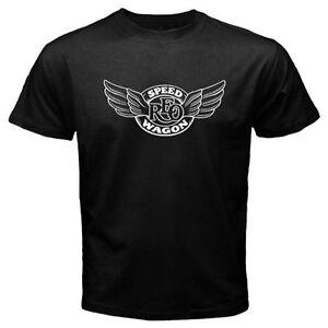 New REO SPEEDWAGON Logo Legend of Rock Men's Black T-Shirt Size S M L XL 2XL 3XL