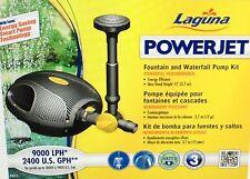 Laguna PowerJet 2400gph Fountain/Waterfall Pump Kit, pt-8216