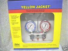 Yellow Jacket TITAN R410A/404A/22 Cmpt Ball Valve Hoses