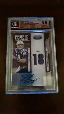 2011 Certified Fabric Of The Game Prime Peyton Manning Auto Card #'D 10/10!!