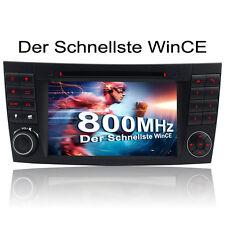 AUTORADIO FÜR MERCEDES-BENZ W211 W219 GPS NAVIGATION BLUETOOTH DVD 2DIN USB*SD