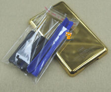 Gold 120GB Metal Back Rear Case Housing Cover Shell for iPod 6th Gen Classic