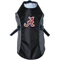 Alabama Crimson Tide NCAA Water Resistant Reflective Dog Pet Jacket Sizes XS-XL