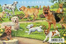 """Bloc feuillet F4545 - Série """" nature """" - Les chiens de race - Année 2011"""