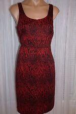 NWT Michal Kors Lipstick Red Dress Size 10P
