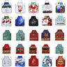 1PC Creative Christmas Decor Cotton Home Kitchen Aprons For Dinner Party Hotel V