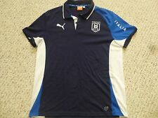 Puma Italy Euro 2012 Power Blue Presentation Polo (Men Size Large)