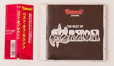 Saxon The Best of Saxon BURRN! Presents Japan Limited CD Obi TOCP-50497 2000