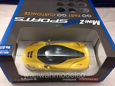 Kyosho Mini Z 32212Y La Ferrari Yellow version (MR-03W-MM 2.4GHz Readyset)