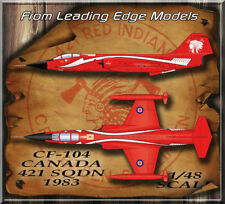 1/48 F-104 Starfighter Canada RCAF 421 Red Special decal set by Leading Edge