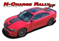 2015-2019 Dodge Charger R/T Scat Pack 392 Hellcat Racing Stripes Decals Graphic