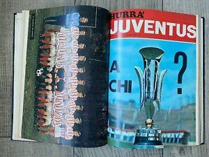1971 JUVENTUS HURRA' BOUND VOLUME INCLUDING FAIRS CUP FINAL Juventus v Leeds +++