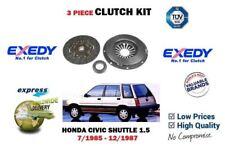 für Honda Civic Pendel 1.5 AR65+4x4 EW2 Motor 1985-12/1987 NEU Kupplung Satz