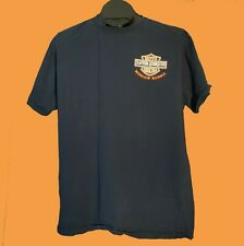 Moscow Russia Harley Davidson Fruit Of The Loom T Shirt Size L