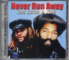 Don Carlos & Gold Never Run Away 1980-83 Reggae Roots Culture Music CD Sealed