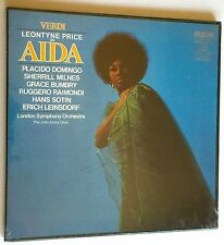 VERDI ~ AIDA ~ LEONTYNE PRICE ~ DOMINGO ~ 3 DGG RECORDS BOX SET ~ NEW AND SEALED