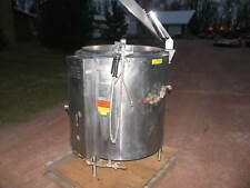 Groen Gas Steam Kettle 60 Gallons Model Ah/1-60 Beer Bbq Chili Pasta Sauce Soup
