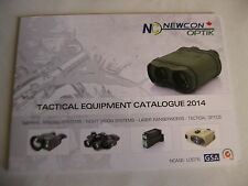 Newcon Optik Tactical Equipment Catalog / 2014 / 43 Pages NEW