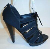 Carlos Santana Size 8 M ZEALOUS Black Platform Pumps Heels New Womens Shoes