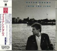 Bryan Adams Into The Fire JAPAN CD with OBI POCM1837