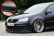 Spoilerschwert Frontspoiler Lippe VW Golf 5 GTI ED30 mit ABE schwarz glänzend