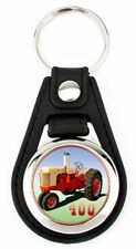 Case 400 Farm Tractor Richard Browne Artwork Keychain Key Fob -
