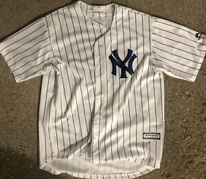 MLB New York Yankees Aaron Judge Majestic Cool Base Jersey Size Youth XL 18/20