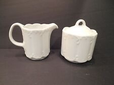 Rosenthal Classic Sugar and Creamer White Porcelain Germany