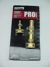 melnor brass sweeper nozzle twist garden hose pair lot new