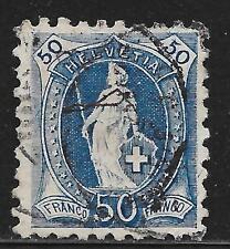 Switzerland stamps 1882 YV 84  Perforation 9 1/2  CANC  VF