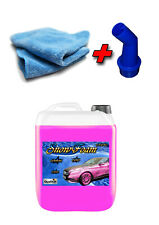 10L Snow Foam Pink 2 Mikrof Snowfoam Aktivschaum Vorwäsche Shampoo Autowäsche