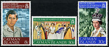 Isole Cayman 1977 giubileo d'argento MNH Set #r 302