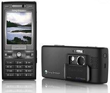 ORIGINAL Sony Ericsson Cyber-shot K800i Black 100% UNLOCKED Cell Phone K800 3G