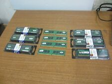 Lot of 10 Kingston (10 x 1GB) KTD-DM8400/1G 1.8V Memory