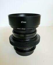 US Seller Jupiter-9 85mm F4 Cine Rotating Oval Canon EF ANAMORPHIC BOKEH&FLARE