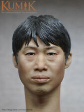 "Kumik16-65 South Korea Male Head Carving Plastic Hair 1/6 Scale Fit 12"" Figures"