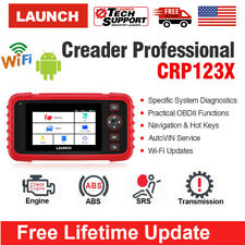2020 LAUNCH X431 CRP123X OBD2 Car Scanner Automotive Diagnostic Tool 4 System US