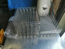 More details for no2  chromed wire food basket   comes in 3 sizes     17 in total