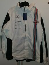 Williams Martini Mercedes Racing Men's Team 2-In-1 Heavyweight Hooded Jacket 2XL